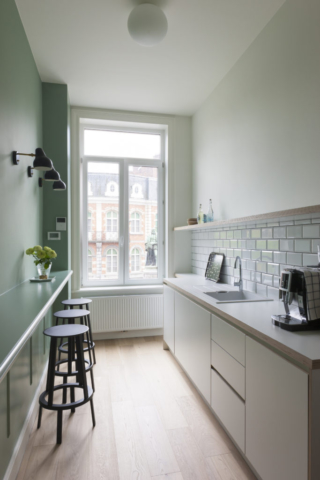 Interieur keuken. Interior design kitchen