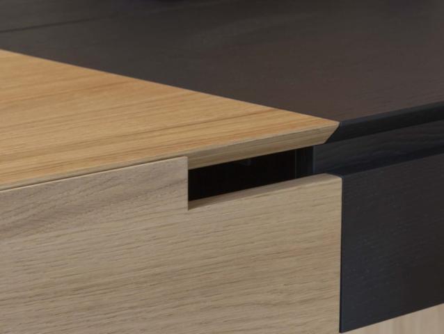 Meubel ontwerp bureau 'Simple', furniture design desk 'Simple'