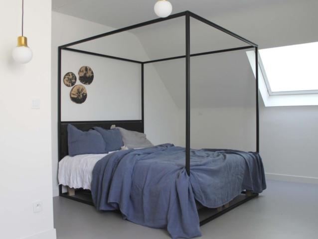 Meubel ontwerp bedframe Dress me up, furniture design bedframe Dress me up